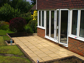 Patios and Decking Kent